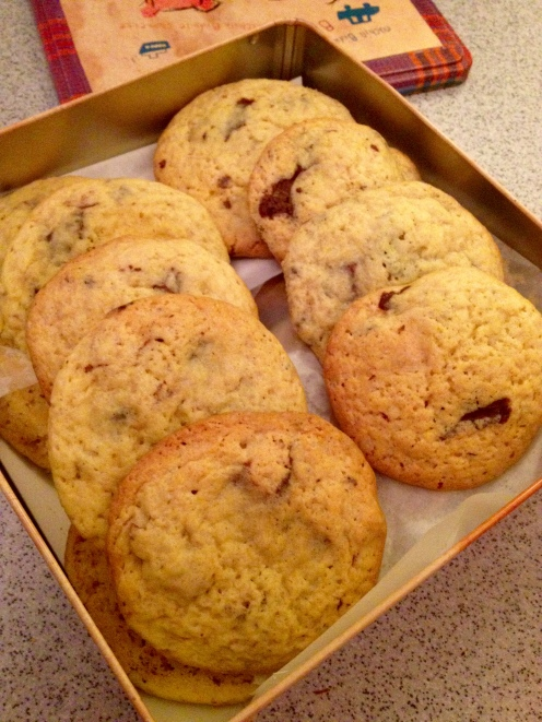 gros cookies trois chocolats
