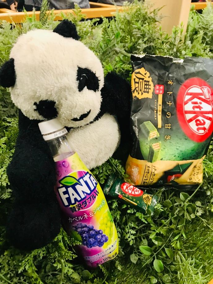 Pandi Panda bien entouré