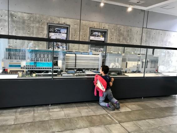 La Gare de Kyoto en Lego
